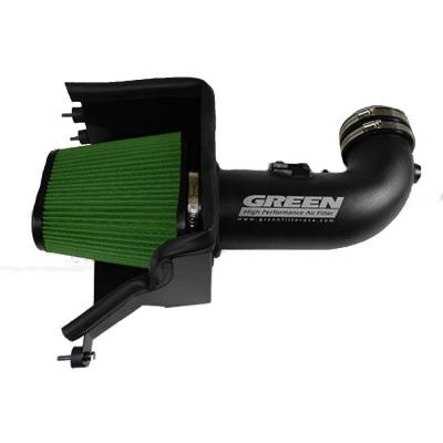 Green Filter USA - Green Filter USA 2584 Cold Air Intake Kit 2014-2018 Chevy Corvette Stingray 6.2L