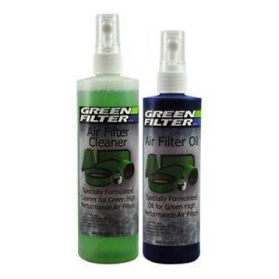 Green Filter USA - Green Filter USA 2802 Reusable Air Element Recharge Oil & Cleaner Kit Blue