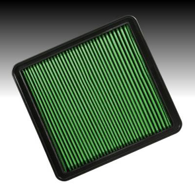 Green Filter USA - Green Filter USA 7050 High Air Flow Element Ford F-Series Pickup V8 Ecoboost V6