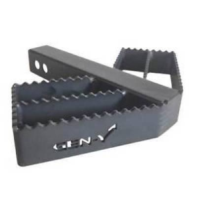 "Trailer, Towing & Winches - GEN-Y Hitch - GEN-Y Hitch GH-035 2"" Shank Receiver Serrated Hitch Step Rated @ 300 lb"