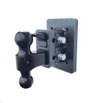 """Trailer, Towing & Winches - GEN-Y Hitch - GEN-Y Hitch GH-122 2"""" Bolt on 2-stack hitch  2.5"""" drop  16k Versa-Ball & Pintle"""