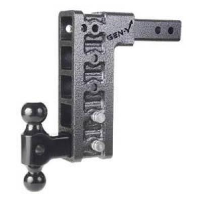 """Trailer, Towing & Winches - GEN-Y Hitch - GEN-Y Hitch GH-315 300 Series 2"""" Shank  10"""" Drop with Versa-Ball  10K   Class V"""