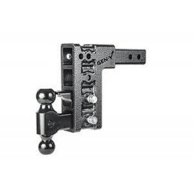 "Trailer, Towing & Winches - GEN-Y Hitch - GEN-Y Hitch GH-624 2.5"" Shank Class V 9"" Drop Ball Mount & Pintle 21K Hitch"