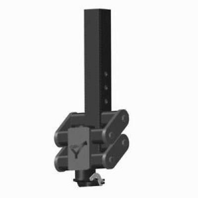"GEN-Y Hitch - GEN-Y Hitch GH-7092 4"" Square Low Profile Gooseneck Coupler Towing Capacity 30K"