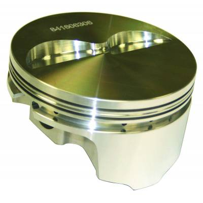 """Pistons & Rings - Pistons - Howards Cams - Howards Cams 840312305 .30 Over 383 Chevy Forged Flat Top Pistons 3.75"""" Stroke"""