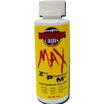 Body Components - Tools - Howards Cams - Howards Cams 99000 Camshaft Break In Lube Max ZPM Zinc Moly Flat Tappet Cam 4oz.