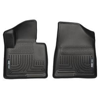 Truck Accessories - Husky Liners - Husky 13861 Weatherbeater Floor Liners Black For 2013-2018 Hyundai Santa Fe
