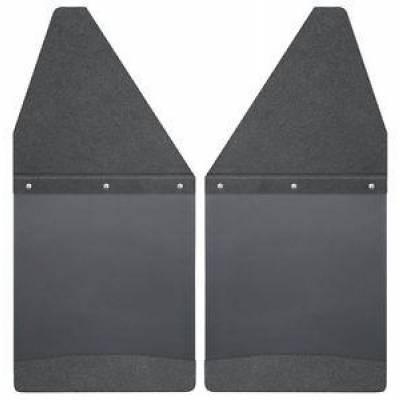 Husky Liners - Husky 17101 KickBack Mud Flaps Black Top & Black Weight Chevy Silverado 1500