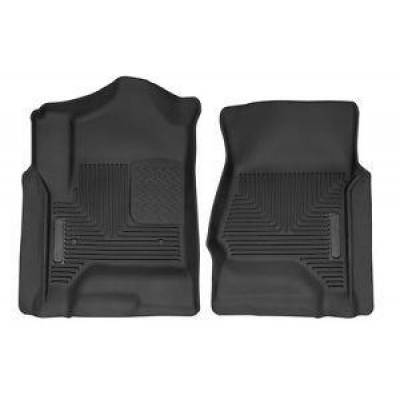 Husky Liners - Husky 53111 X-Act Contour Front Floor Liners 2014-2020 Silverado  Sierra  Yukon