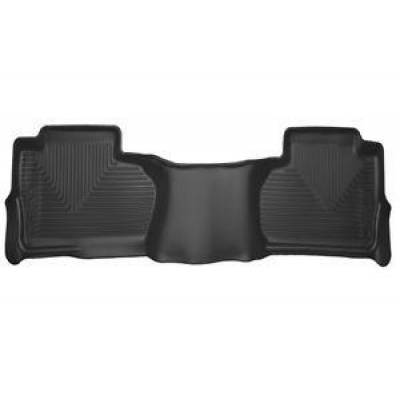 Husky Liners - Husky 53221 X-Act Contour 2nd Seat Floor Liner 2014-2019 Chevy Silverado GMC Sierra Double Cab