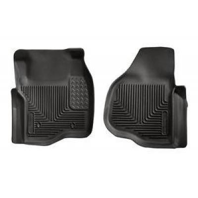 Husky 53301 X-Act Contour Front Floor Liners 2011-2016 Ford Super Duty