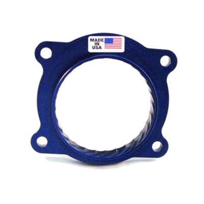Throttle Bodies - Throttle Body Spacers - JET Performance Products - JET 62169 Power-Flo Billet Throttle Body Spacer 2010-2015 Chevy Camaro SS 6.2L