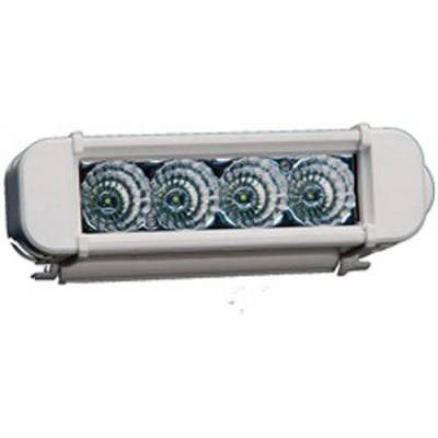 "Lazer Star Lights - Lazer Star LX03042-M Atlantis Marine 6"" 4 LED Light Bar Flood 3 Watt Single Row"