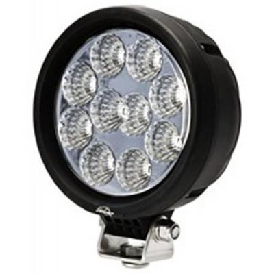 "Lighting - Lazer Star Lights - Lazer Star LX33102-U Endeavour Utility 5"" 10 LED Flood Light 3W Pedestal Mount"