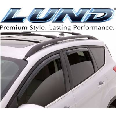 Lund International - Lund 184293 Ventvisor Elite Side Window Shades 4-Piece 2011-2017 Ford Explorer