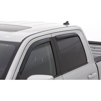 Lund International - Lund 184536 Ventvisor Elite Window Shades 4-Piece 2014 Chevy Silverado Crew Cab