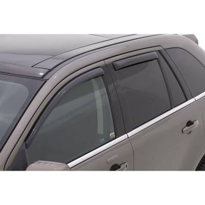 Lund International - Lund 184632 Ventvisor Elite Side Window Shades 4-Piece 2007-2013 GMC Acadia