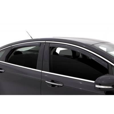 Lund International - Lund 184714 Ventvisor Elite Side Window Shades 4-Piece 2013-2014 Ford Fusion