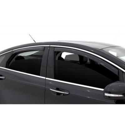 Lund International - Lund 184714 Ventvisor Elite Side Window Shades 4-Piece 2013-2014 Ford Fusion