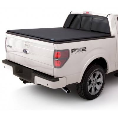 Exterior - Bed Covers - Lund International - Lund 95851 Genesis Elite Tri-Fold Tonneau Bed Cover 99-17 Ford Super Duty 8 Box