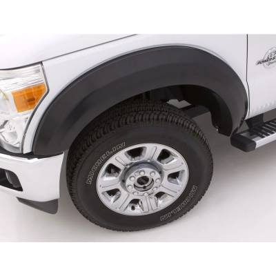 Exterior - Fender Flares - Lund International - Lund EX203T Extrawide Style 4Pc Textured Fender Flares 02-09 Dodge Ram Truck