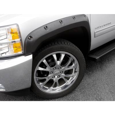 Exterior - Fender Flares - Lund International - Lund RX106S Rivet Pocket Style Smooth Fender Flares 2008-2013 Chevy Silverado