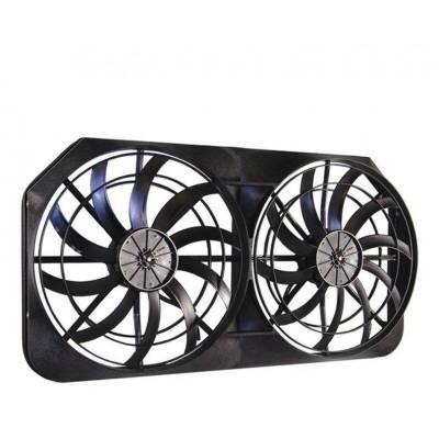 "Cooling - Electric Fans & Components - Maradyne - MaraDyne MM22KX Mach Two Extreme HD Dual Electric Fans Kit 16"" 225w 4320 CFM"