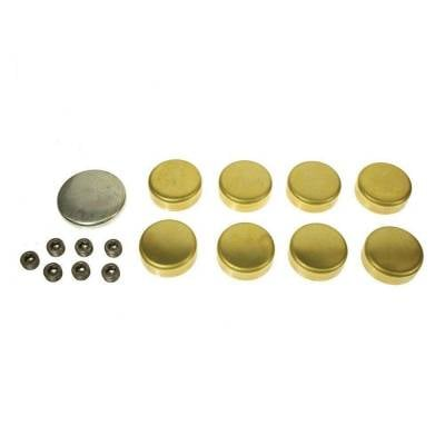 Engine Blocks & Components - Freeze Plugs & Kits - Melling - MEL MPE-102BR MELLING BBC CHEVY BRASS FREEZE FROST PLUG KIT 396 402 427 454