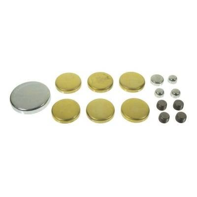 Engine Blocks & Components - Freeze Plugs & Kits - Melling - MEL MPE-108BR MELLING SBF FORD BRASS FREEZE FROST PLUG KIT 260 289 302 351W