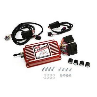 MSD - MSD 6014 GM Chevy LS LS6 Red Ignition Control Box Timing Rev Limiter LS1 LSX LS3