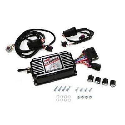 MSD - MSD 60143 GM LS 6LS Black Ignition Control Box Timing Rev Limiter LS1 LSX LS3