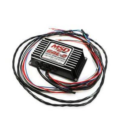 MSD - MSD 64213 Black Ignition Control Box 6AL-2 w/ 2 Step Limiter w/ 4 6 8 Cylinder Engines
