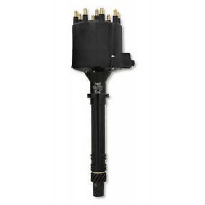 MSD - MSD 83663 Black Pro-Billet Late Model GM EFI V8 HEI External Coil Distributor