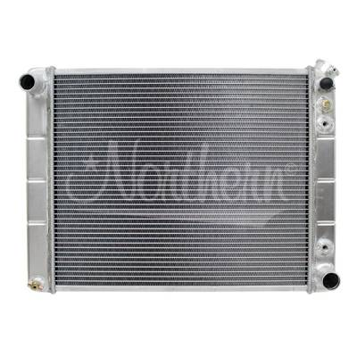 Northern Radiator - Northern 205028 Aluminum Radiator 67-79 Buick Skylark Oldsmobile Omega With A/T