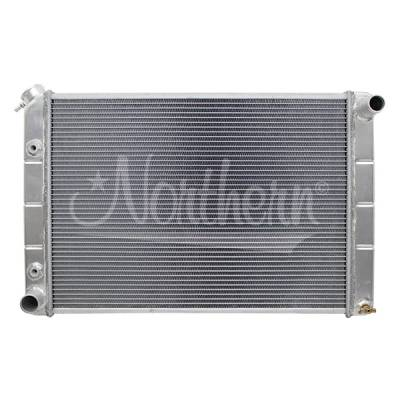 Northern Radiator - Northern 205029 80-93 Fox Body Ford Mustang Crossflow Aluminum Radiator with A/T
