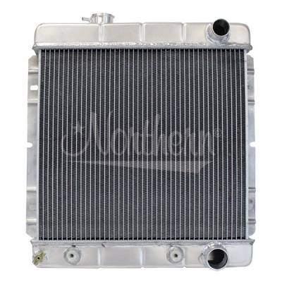 Northern Radiator - Northern 205030 Aluminum Radiator 1964 1/2-1966 Mustang 1960-1965 Comet w A/T