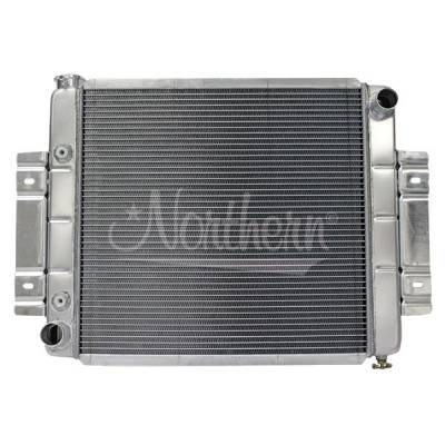 Northern Radiator - Northern 205053 Direct Fit Aluminum Radiator 73-85 Jeep CJ5 CJ6 CJ7 Ford Mopar