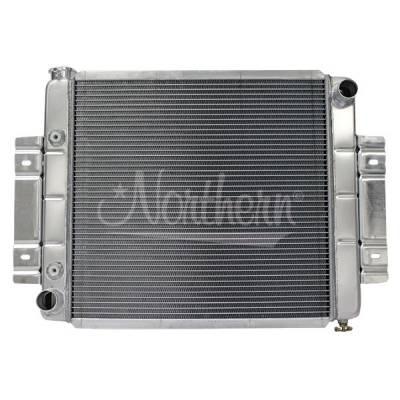 Northern Radiator - Northern 205053 Direct Fit Aluminum Radiator 73-85 Jeep CJ5 CJ6 CJ7 Ford Mopar