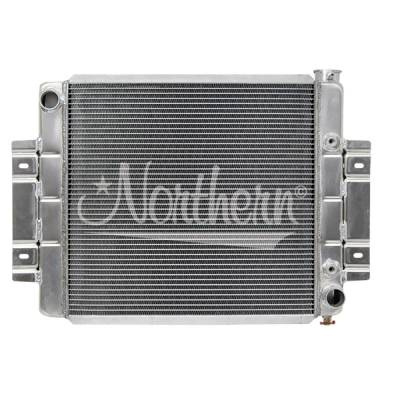 Northern Radiator - Northern 205054 Aluminum Radiator 73-85 Jeep CJ5 CJ7 w/ Chevy 350 V8 Engine Swap
