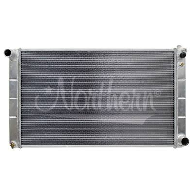 Northern Radiator - Northern 205055 High Performance Aluminum Radiator 71-79 Chevy fullsize Car M/T