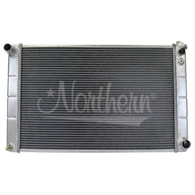 Northern Radiator - Northern 205056 Aluminum Universal Radiator 67-87 GM Chevy w Manual Transmission