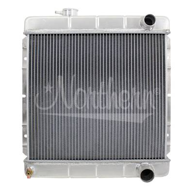 Northern Radiator - Northern 205059 Aluminum Radiator 1964-1966 Ford Mustang w M/T Right-side Hoses