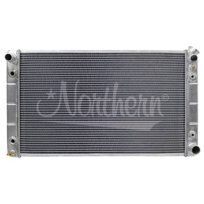 "Northern Radiator - Northern 205061 Aluminum Radiator 1988-1998 Chevy GMC C/K Pickup Truck 28"" Core"