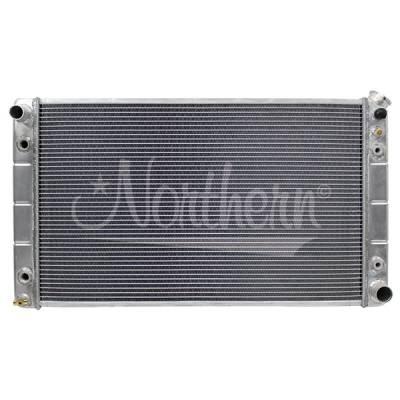 """Northern Radiator - Northern 205061 Aluminum Radiator 1988-1998 Chevy GMC C/K Pickup Truck 28"""" Core"""