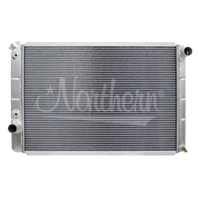 Northern Radiator - Northern 205063 Aluminum Radiator 70-79 Ford Torino Ranchero Mercury Cougar