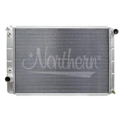 Northern Radiator - Northern 205063 Aluminum Radiator 70-79 Ford Torino Ranchero Mercury Cougar