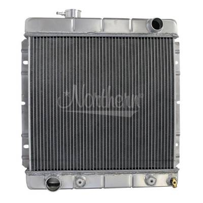Northern Radiator - Northern 205064 Aluminum 2-Row Crossflow Radiator 64-66 Ford Mustang Comet w A/T