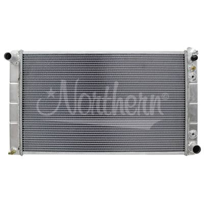 Northern Radiator - Northern 205065 Aluminum Radiator 73-91 Chevy Truck Suburban Blazer Trans Cooler