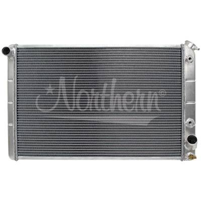 Northern Radiator - Northern 205066 Chevy 77-82 Corvette Aluminum Radiator w/ Transmission Cooler