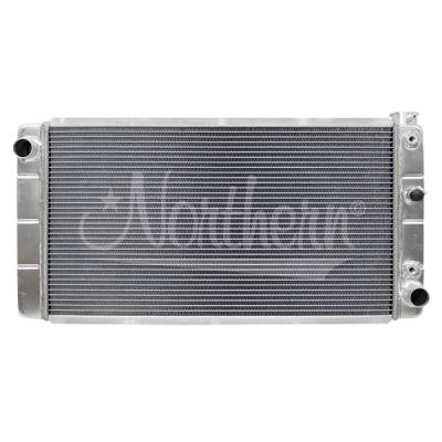 Northern Radiator - Northern 205067 Aluminum Radiator 82-93 Chevy S10 GMC Jimmy SBC 350 V8 Swap